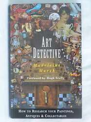 Art Detective How To Research Your Paintings, Antiques And Collectables, Marsh,