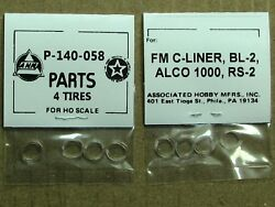 P-140-058 Traction Tire Factory Original Parts, Ahm And Rivarossi Ho Scale Trains