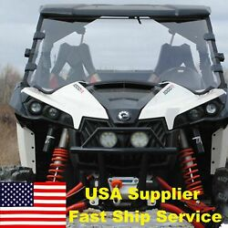 New Can-am Maverick 800/1000 Front Full Windshield 2013-2018