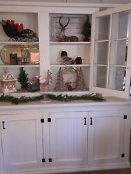 Farm Vintage Style Hutch From Aged Barn Wood / Pick Up Only
