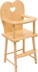Small Foot Doll High Chair Nature 1162 Dolls Doll's Highchair Wood Wooden Toy