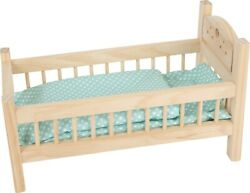 Small Foot Dolls Bed Nature 9601 Doll Doll's Chidlrens Wood Wooden Toy