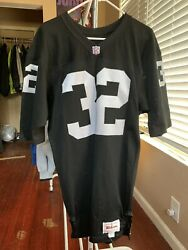 Marcus Allen Team Issued Oakland Raiders Jersey 100 Authentic Size 42