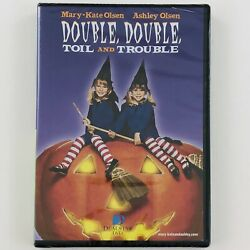 Double Double Toil and Trouble DVD Mary Kate and Ashley Olsen Halloween Movie $9.89