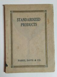 1911 Parke Davis And Co Illustrated Pharmacological Herbal Medicinal Drug Extract
