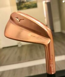 Mizuno Mp-20 Limited Copper. Rare Limited Edition. Only 500 Sets Made.andnbsp3-pw