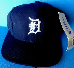 Vintage 90andrsquos Sports Specialties Detroit Tiger Mlb Baseball Big D Fixed Hat Wool