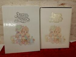 Vintage Precious Moments Bible New King James Family Edition With Box