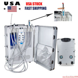 Mobile Dental Portable Delivery Treatment Unit Curing Light Ultrasonic Scaler 4h