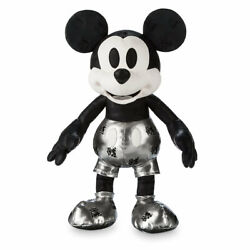 Disney Memories Mickey Mouse Steamboat Willie Plush - Limited Edition