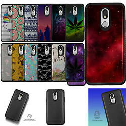 For [lg Stylo 5 /stylo 5x][embossed Duo Set12] Shock Combat Case