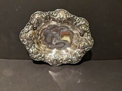 Whiting Bowl - 6072 - Antique Art Nouveau - American Sterling Silver
