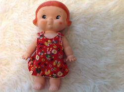 1974 Uneeda 214 Campbell Soup Kid Doll Red Hair Very Nice