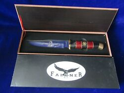 Falkner Davy Crockett Collector's Limited Edition Bowie-type Knife W/box