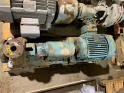 Goulds 3196st 3x1.5-6 Di Centrifugal Pump With Westinghouse 10 Hp 3500 Rpm Motor