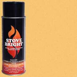 Stove Bright Fireplace Stove High Temperature Spray Paint Metallic Gold 6302