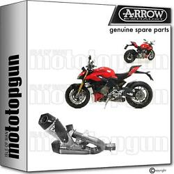 Arrow Race Exhaust Nocat Works Titanium Cc Ducati Streetfighter V4 1100 2020 20