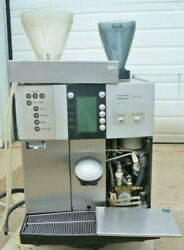Franke Sinfonia 2-step Commercial Espresso Machine For Parts / Repair Powers On