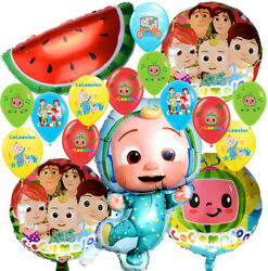 COCOMELON music theme Birthday Party Decoration supplies BALLOON baby shower $9.99
