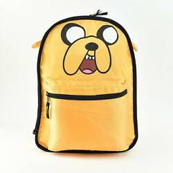quot;Adventure Time Jake the Dogquot; Kid#x27;s Reversible Backpack Cartoon Network Unisex $23.99