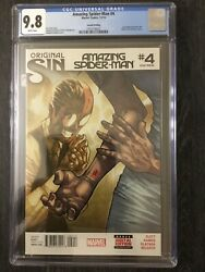 Original Sin Amazing Spiderman 4 CGC 9.8 Second Print