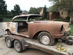 1955 Oldsmobile 98 Two Door Holiday Hardtop Andmdashparting Out Car