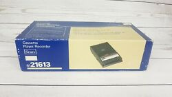 New Vintage Portable Sears Cassette Player Recorder 6121613 - Rare Free Shipping