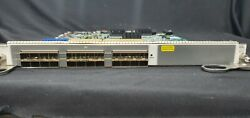 [used] Force10 Lc-ef3-1ge-24p 24 Ports Sfp Gigabit Ethernet Card For Dell