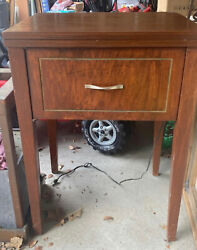 """Vintage """"dressmaker"""" Sewing Machine With Sewing Table"""