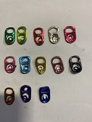 500 Lime Green Or Any Colors Aluminum Can Tabs Assorted Pull Tabs Pop Tops Soda