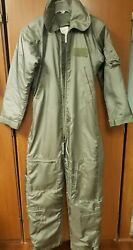 Military Flight Suit Green Size 38r