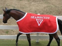 SEABISCUIT TB embroidered blanket Breyer thoroughbred race horse