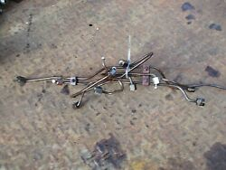 1966 Oliver 1850 Diesel Farm Tractor Fuel Injector Lines Free Shipping
