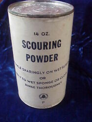 Nos Vintage Bell Telephone Company 14 Ounce Can Of Scouring Powder Unused Rare