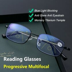 German intelligent color Progressive Auto Focus reading glasses—See more clearly $13.99