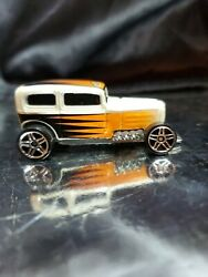 Hot Wheels 2001 Midnight Otto White Made In Malaysia Loose And Lovely