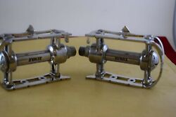 Rewax Pedal Set Road Bikes French Thread Aluminium Vintage Made In France Nos