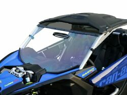 Can-am Maverick X3 Full Vented Windshield Trr Tooless Scratch Resistant 2017-21
