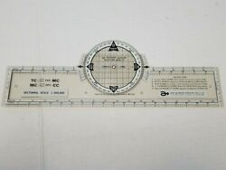 Vintage Apr Rotary Azimuth Plotter Npr-13 Sectional Scale Aero Products