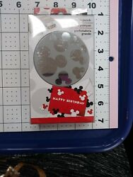 Disney Mickey Mouse Large Paper Punch Ears Die Cut Tool Party Cupcake Topper New