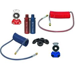 Tectran Long Red And Blue Air Lines With Handles Gladhands Seals