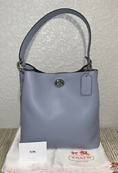 NEW AUTHENTIC COACH Charlie Bucket Bag in Polished Leather #55200 $189.00