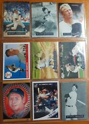 Mickey Mantle .trading Cards Lot 6