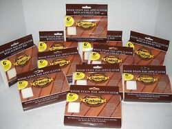 Cabot Wood Stain 6 Refill Pads For Smooth Surfaces, Fits Deck Boards 11 Pads