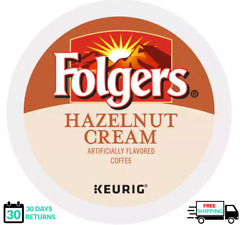 Folgers Hazelnut Cream Keurig Coffee K-cups You Pick The Size