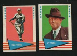 1961 Fleer All Time Greats 154 Russ Young New York Giants Sp
