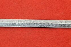 Damascus Steel Hand Forged Double Edged Viking Sword Blank Blade
