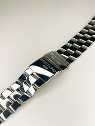 Breitling 22mm Stainless Steel Watch Band