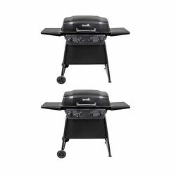 Char-broil Classic 4 Burner Outdoor Backyard Barbecue Propane Gas Grill 2 Pack
