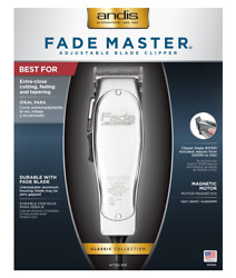 Andis 01690 Professional Fade Master Hair Clipper With Adjustable Fade Blade,
